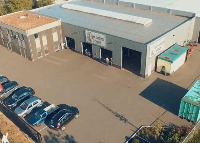 luchtfoto tyre business belgium