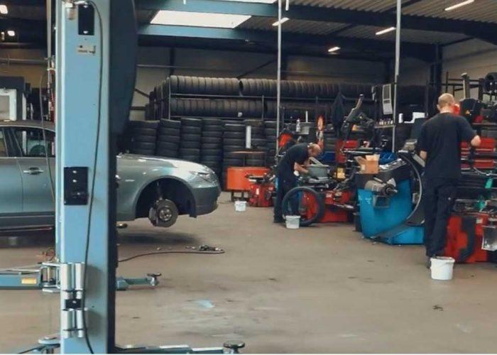 Werkplaats Tyre Business Belgium
